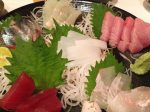 多治見の居酒屋「謙心」で地酒と新鮮な海鮮を味わう