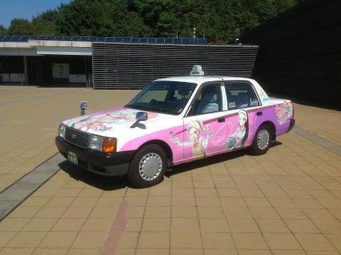 多治見の痛車「やくもタクシー」観光地を回るならぜひ乗りたい!