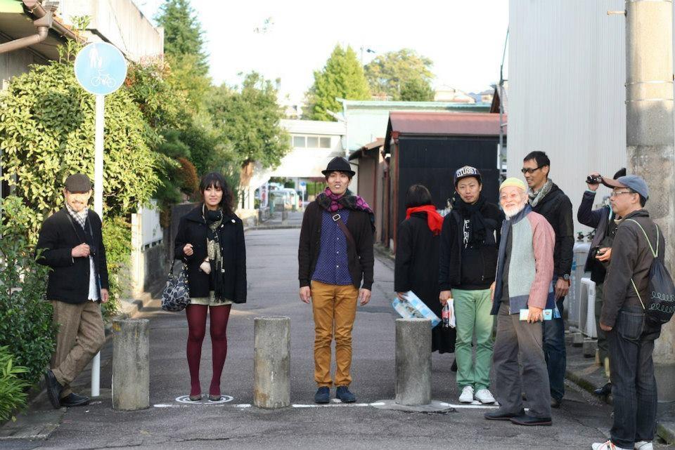 多治見の街で音を感じる「点音ツアー」with鈴木昭男さん