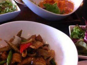 多治見市でランチ「中国料理ーXingfu-(シンフー)」お洒落な店内