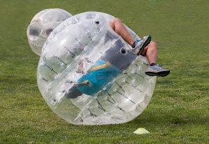 多治見でBBQ 八曽の里キャンプ場 バブルサッカー
