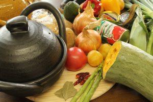 土鍋で料理 家でも簡単レシプ