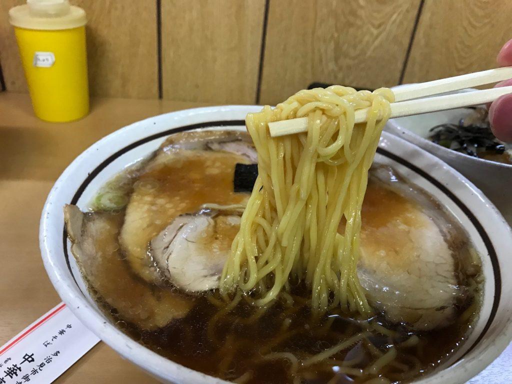 中華亭本店、チャーシュー麺