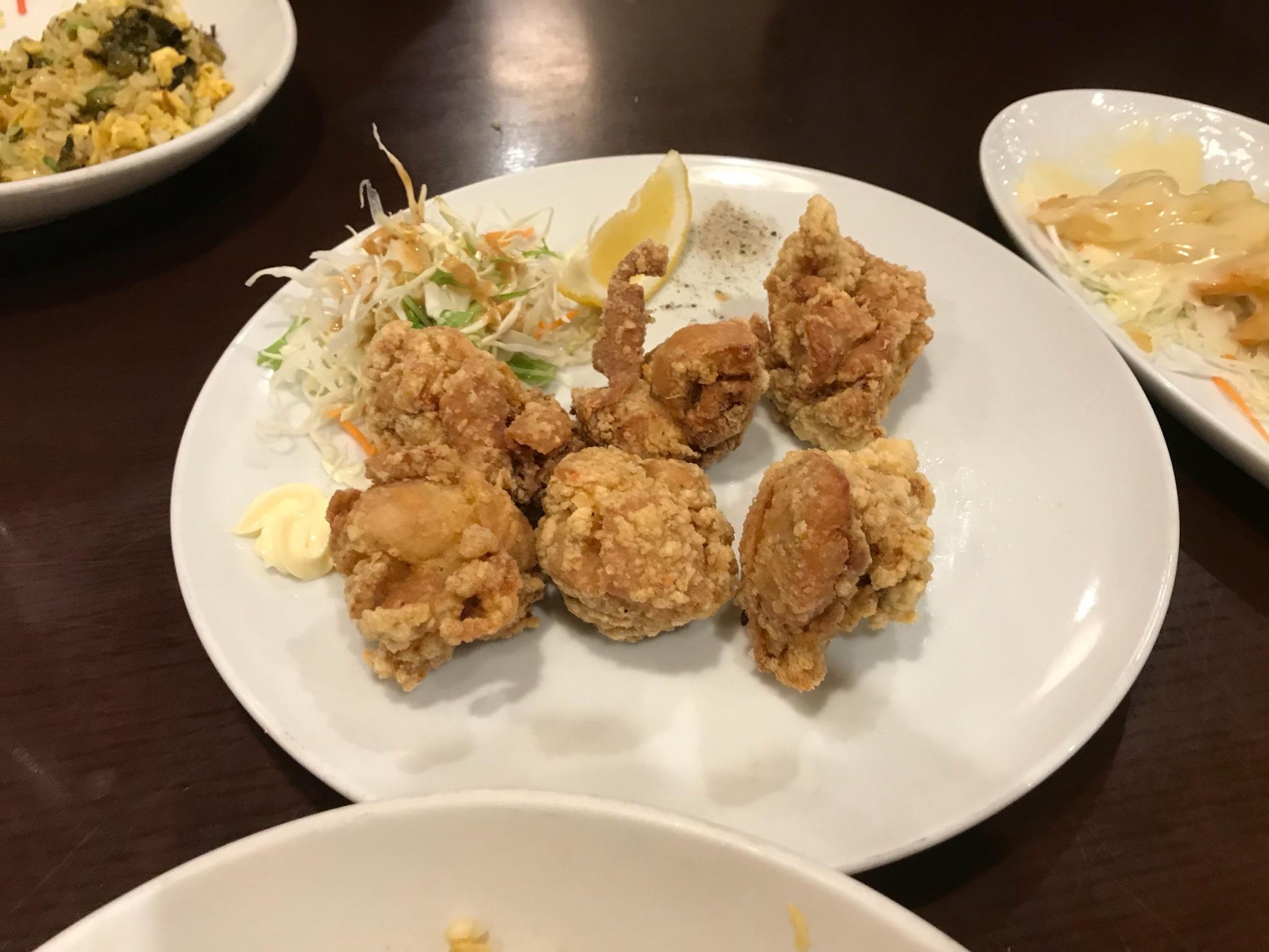多治見の王道中華料理、天福